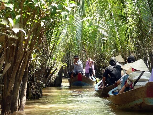 vietnamese jungle creek